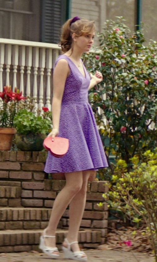 Liana Liberato with Kayleen Women's Platform Wedge Sandals in The Best of Me