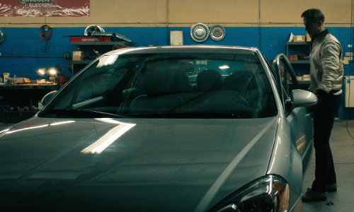 Ryan Gosling with Chevrolet 2006 Impala LT Car in Drive