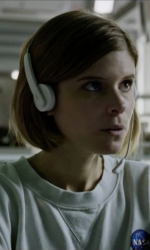 Kate Mara with Logitech Stereo Headset in The Martian