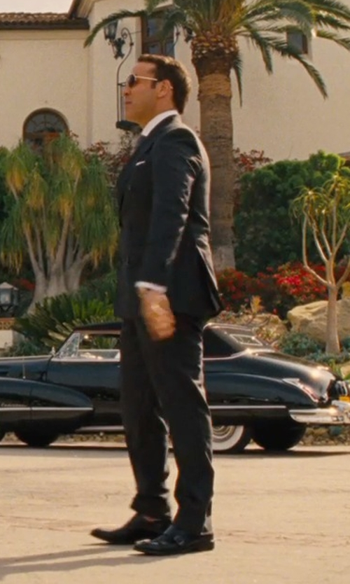 Jeremy Piven with Domenico Vacca Double Buckle Shoes in Entourage