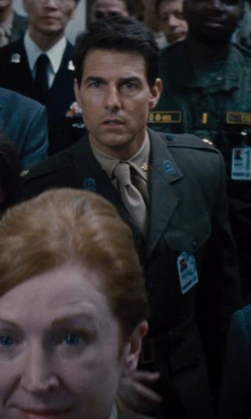 Tom Cruise with uniforms-4u US ARMY CLASS A ENLISTED / OFFICERS GREEN COAT in Edge of Tomorrow