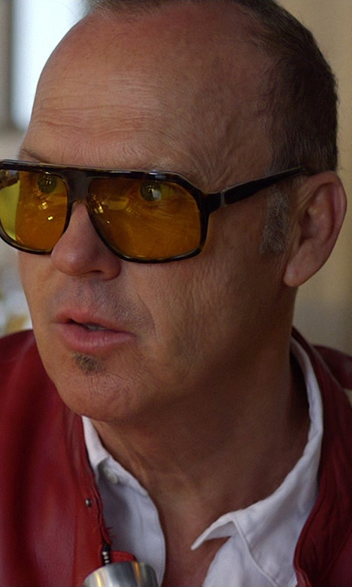 Michael Keaton with Gant Rugger Oxford Hugger Button Down Shirt in Need for Speed