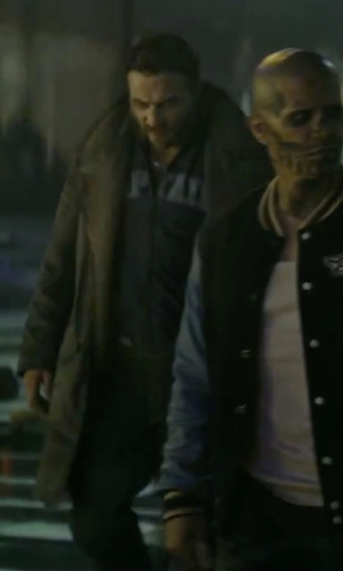 Jai Courtney with Diesel Waykee Straight Denim Pants in Suicide Squad