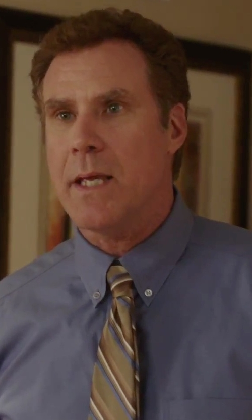 Will Ferrell with Nordstrom Woven Silk Tie in Daddy's Home