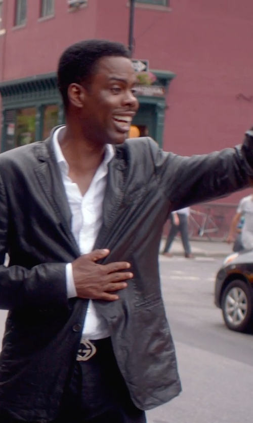 Chris Rock with Ralph Lauren Lambskin Anthony Sport Coat in Top Five