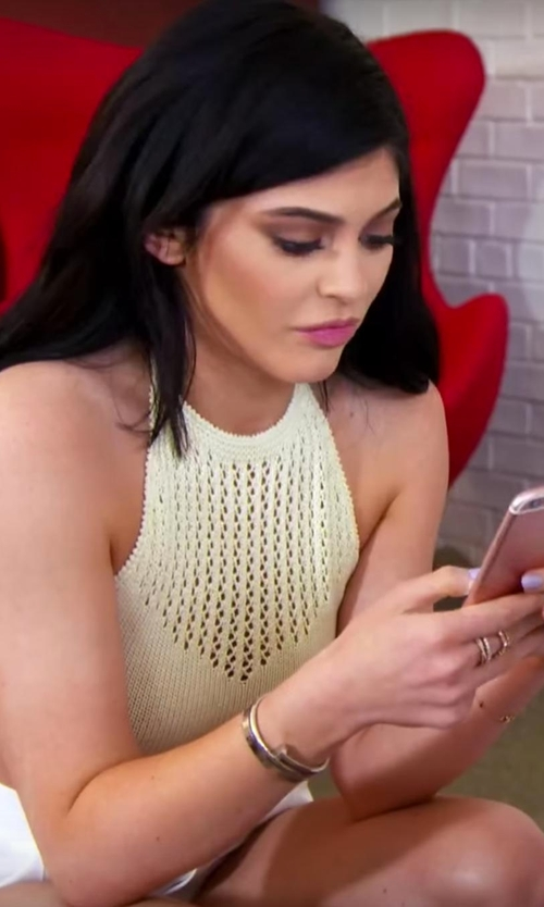 Kylie Jenner with Cartier Juste Un Clou Bracelet in Keeping Up With The Kardashians