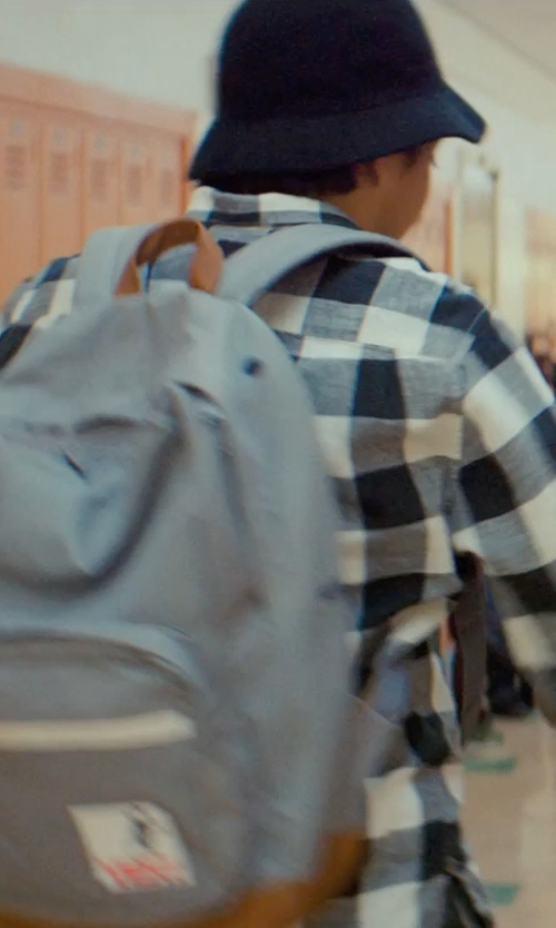 Tony Revolori with Herschel Supply Co. Pop Quiz Backpack in Dope