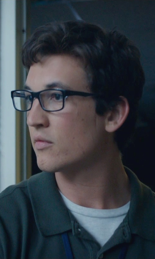 Miles Teller with Oliver Peoples NDG I 50 Eyeglasses in Fantastic Four