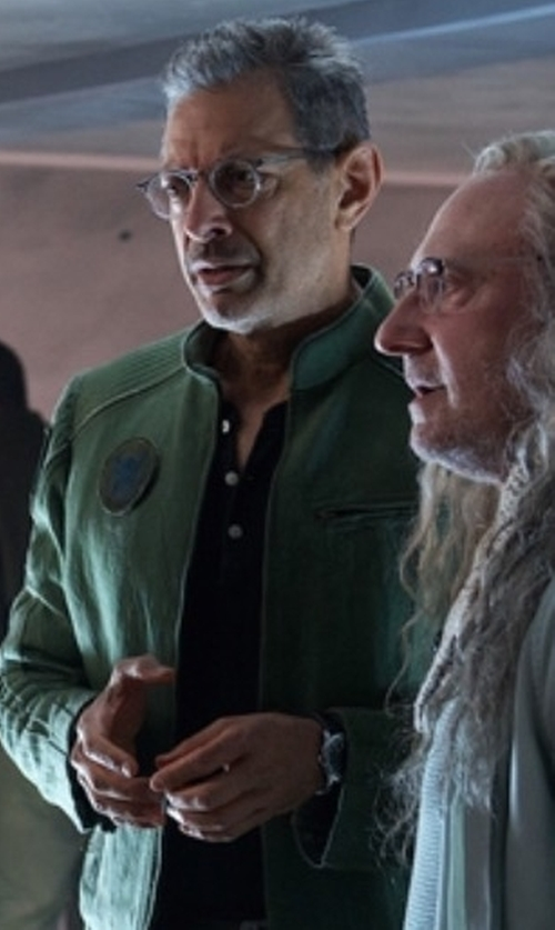 Jeff Goldblum with Hamilton Jazzmaster Analog Self Wind Watch in Independence Day: Resurgence