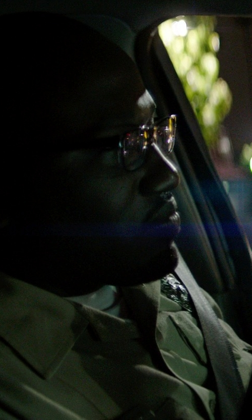 Hannibal Buress with Hanes Men's White TAGLESS Crewneck Undershirt in Neighbors