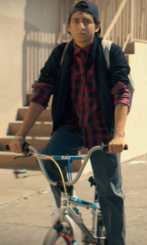 Tony Revolori with GT Air Dirt Bike in Dope