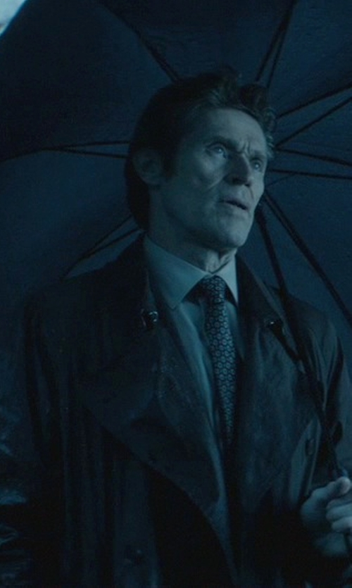 Willem Dafoe with Kenneth Cole Reaction Raburn Wool-Blend Over Coat in John Wick