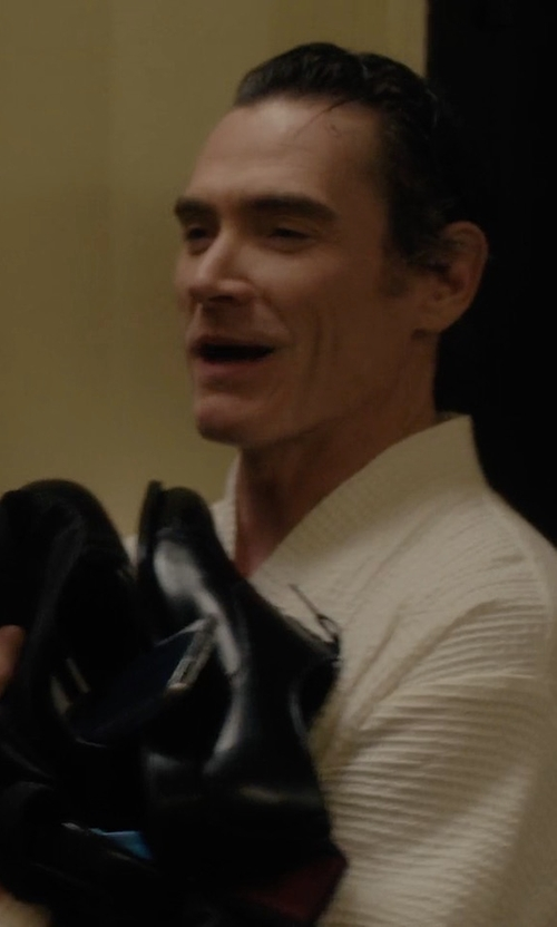 Billy Crudup with Church's Consul Leather Oxford Shoes in Gypsy