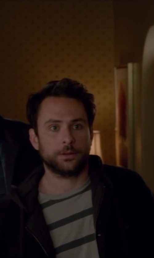Charlie Day with Bulk Striped T Shirt in Horrible Bosses 2