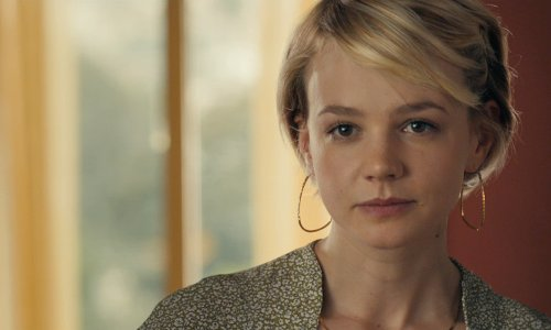 Carey Mulligan with The Legendary Park Plaza Hotel (Depicted as Driver and Irene's Apartments) Los Angeles, California in Drive