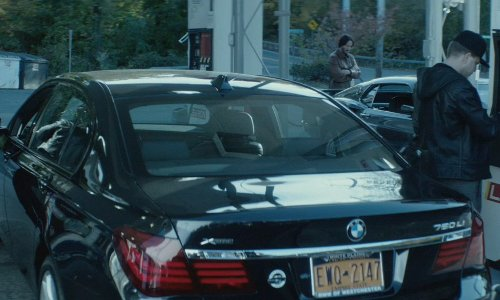 Alfie Allen with BMW 2013 750Li Car in John Wick