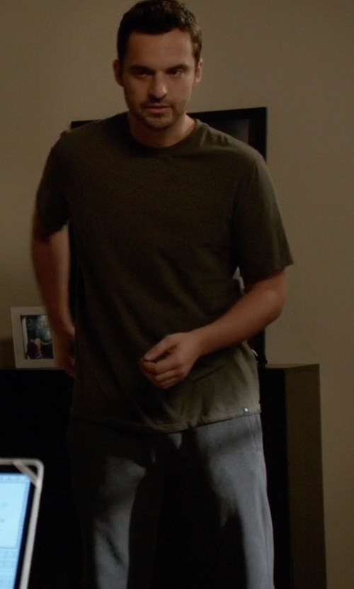Jake Johnson with Alternative Apparel  Dodgeball Eco-Fleece Pants in New Girl
