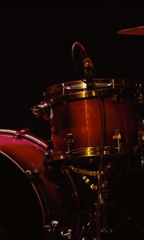 Unknown Actor with Ddrum Journeyman Wine Red Drum Set in Begin Again