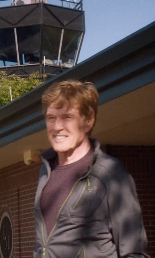 Robert Redford with Columbia Sportswear Prime Peak Soft Shell Jacket in A Walk in the Woods