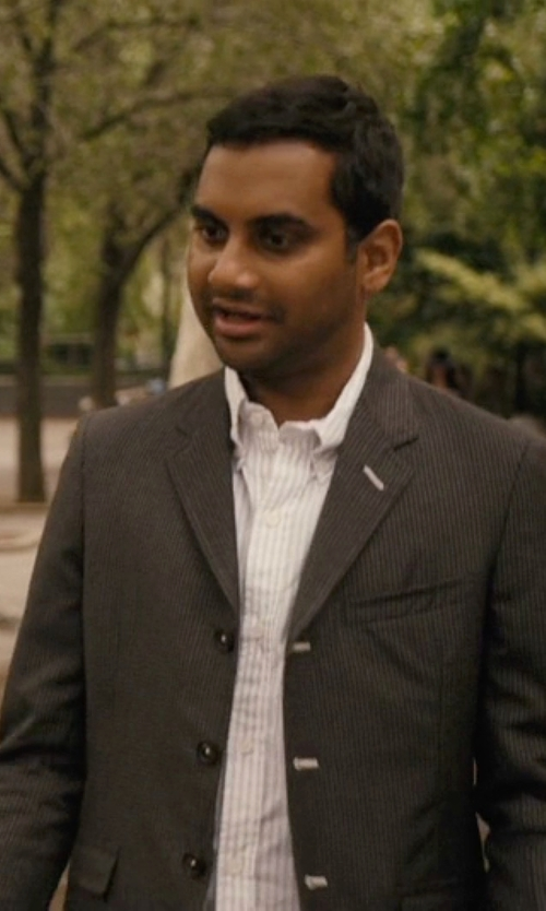 Aziz Ansari with Band Of Outsiders Three Button Blazer in Master of None