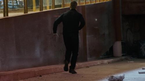 Matt Damon with Alico Summit Hiking Boots in Jason Bourne