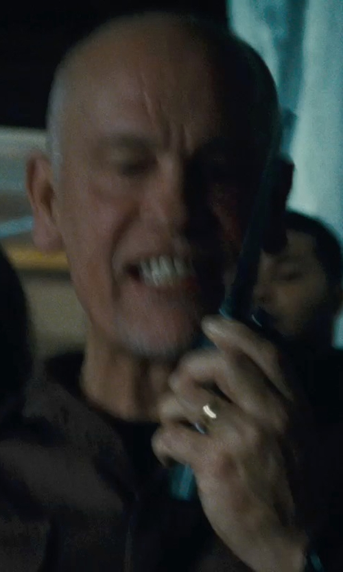 John Malkovich with Velvet by Graham & Spencer Crew Neck Whisper Jersey T-Shirt in Warm Bodies