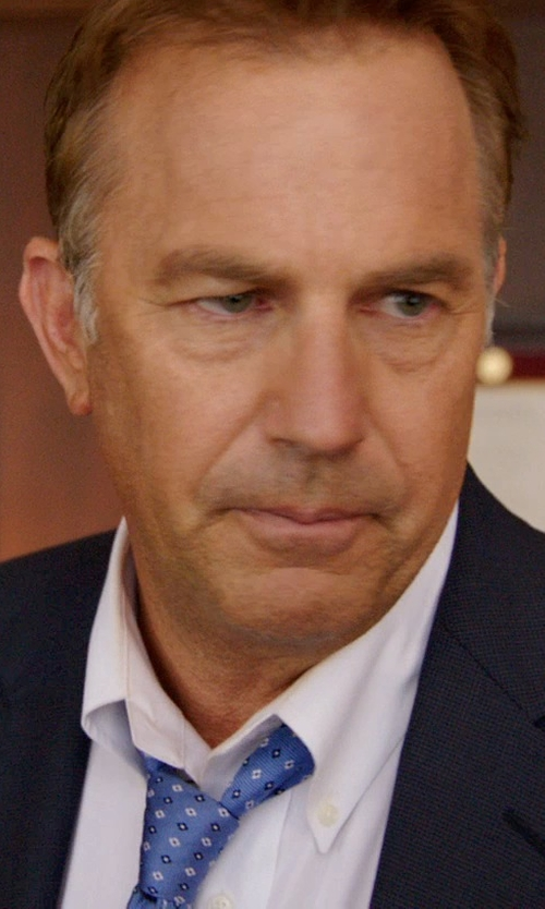 Kevin Costner with Express Wool Blend Innovator Suit Jacket in Black or White