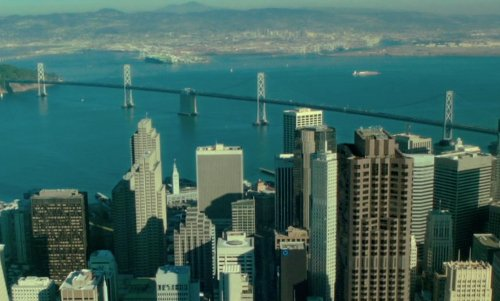 Unknown Actor with San Francisco–Oakland Bay Bridge San Francisco, California in If I Stay