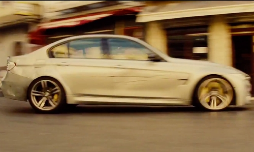 Tom Cruise with BMW 2015 F80 M3 Sedan in Mission: Impossible - Rogue Nation