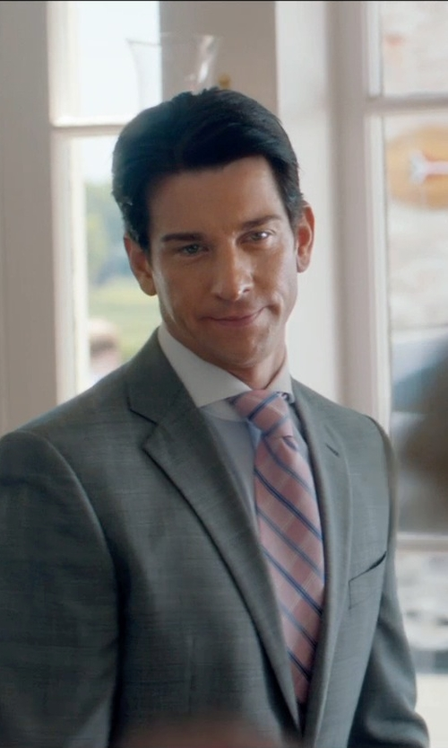 Andy Karl with Turnbull & Asser Cotton Shirt in And So It Goes