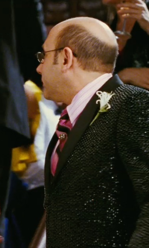 Willie Garson with Charvet Striped Silk Tie in Sex and the City
