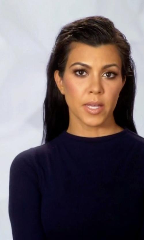 Kourtney Kardashian with Naked Wardrobe NW Bodysuit in Keeping Up With The Kardashians