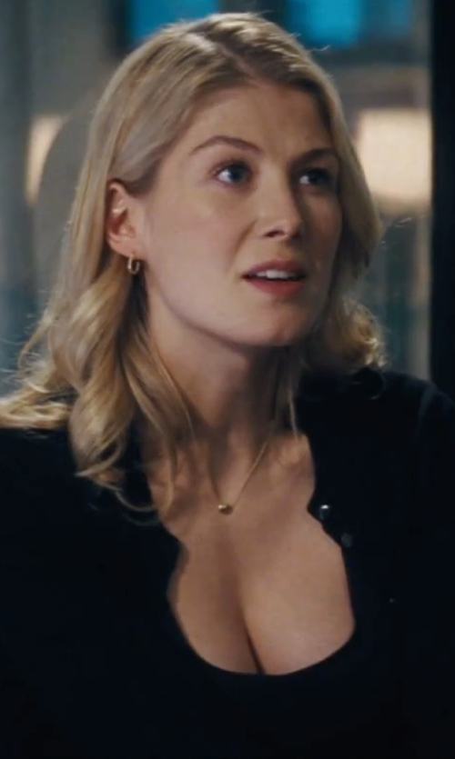 Rosamund Pike with Vince Favorite Tank Top in Jack Reacher