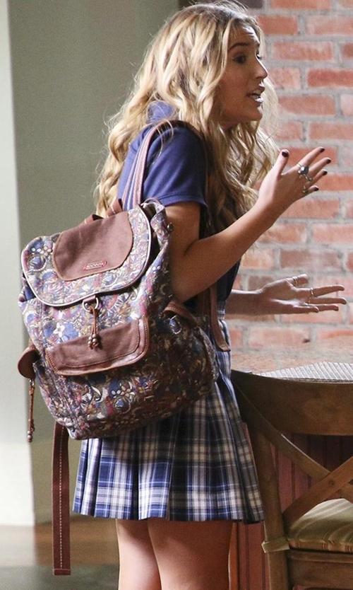 Lennon Stella with L-Email Wig Academic School Plaid Skirts in Nashville