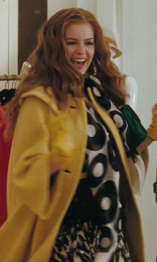 Isla Fisher with Tart Collections Stretch-Modal Jersey Mini Dress in Confessions of a Shopaholic