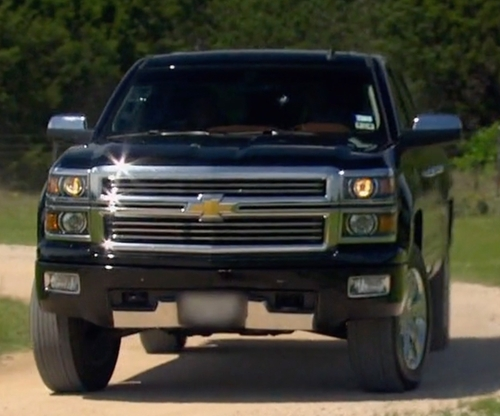 Unknown Actor with Chevrolet Silverado 2500HD Pickup Truck in The Bachelorette