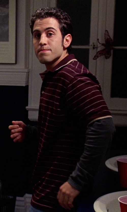 Daniel DeSanto with T by Alexander Wang Long Sleeve Linen T-Shirt in Mean Girls