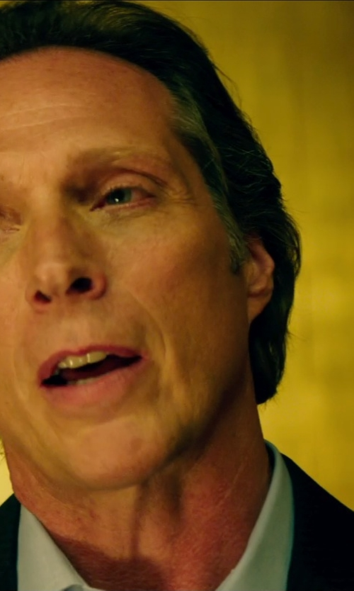 William Fichtner with Theory Weller Suit Jacket in Teenage Mutant Ninja Turtles (2014)
