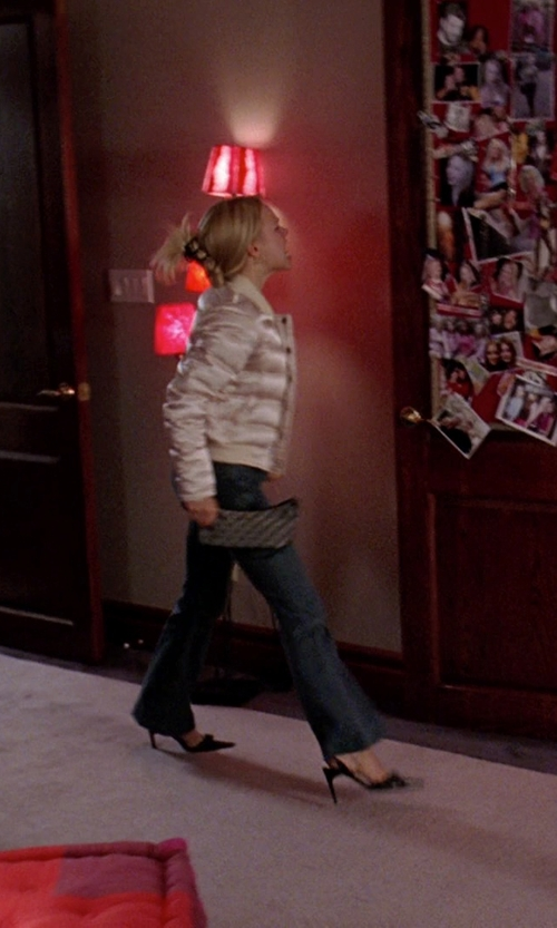Rachel McAdams with Kate Spade New York 'Cobble Hill - Lacey' Zip Around Wallet in Mean Girls