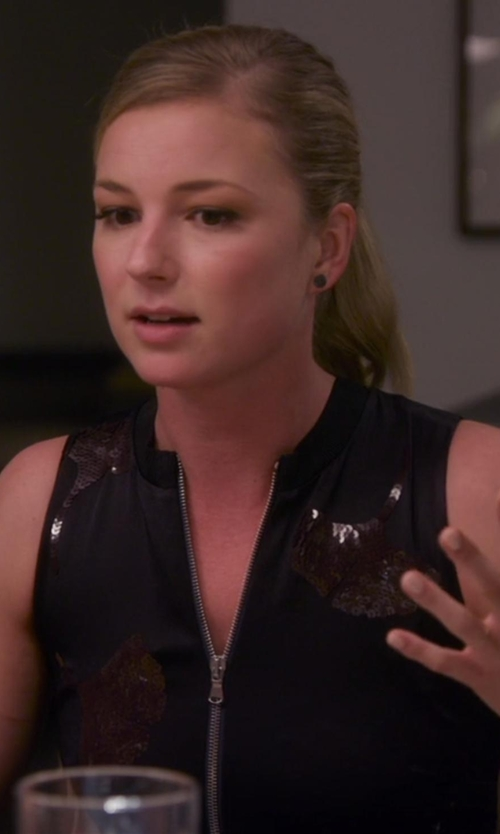 Emily VanCamp with Cedric Charlier  Sleeveless Top in Chelsea