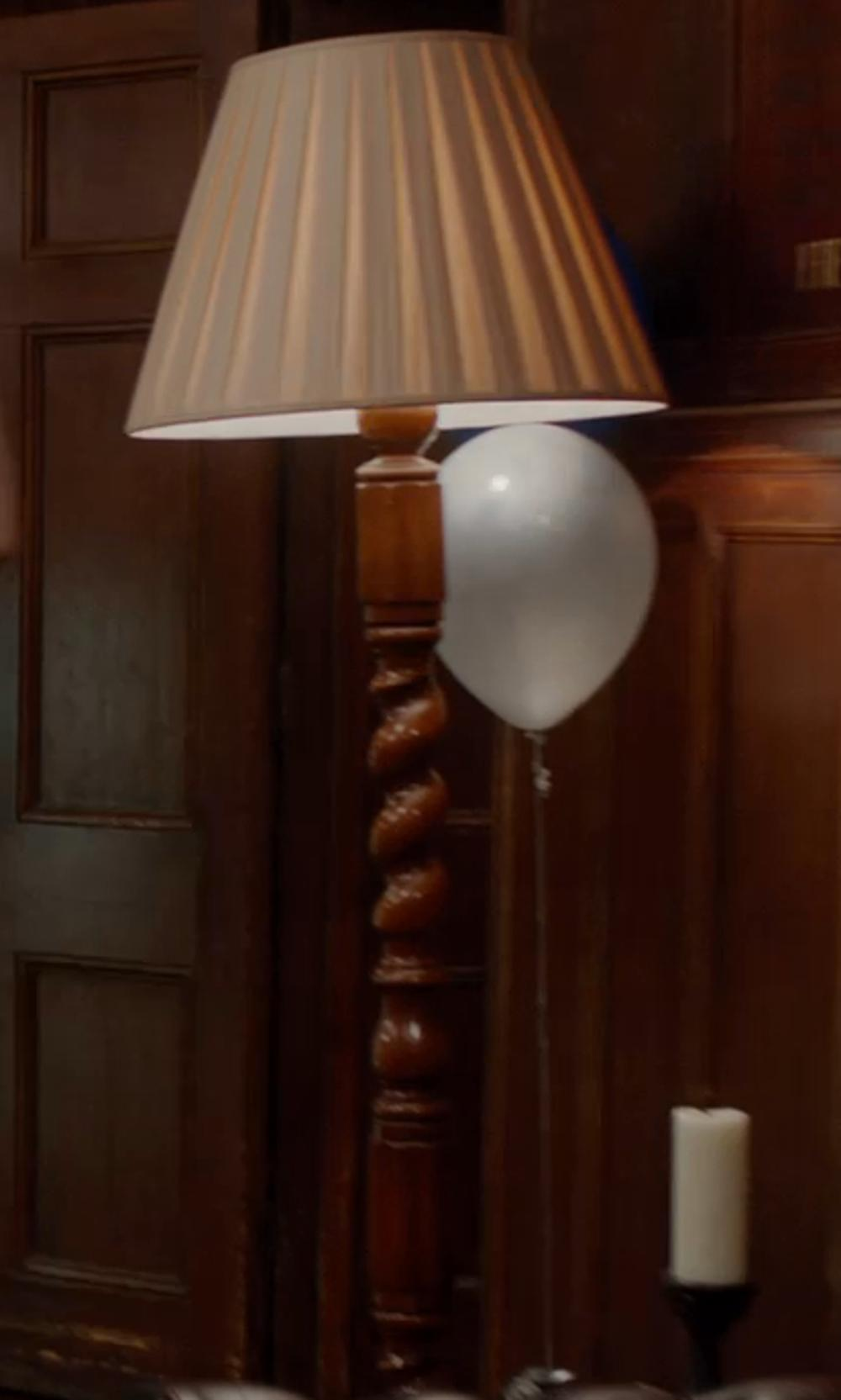 Unknown Actor with Ethan Allen Turned Wood Floor Lamp in Vampire Academy
