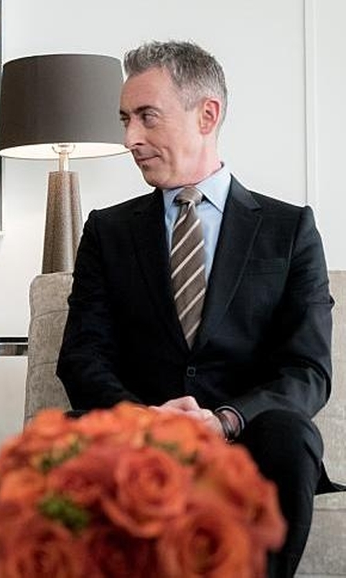 Alan Cumming with Dsquared2 Classic Two-Piece Suit in The Good Wife