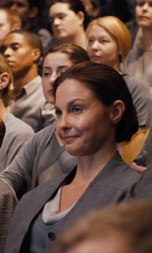 Ashley Judd with Carlo Poggioli (Costume Designer) Custom Made Natalie Prior Abnegation Dress in Divergent