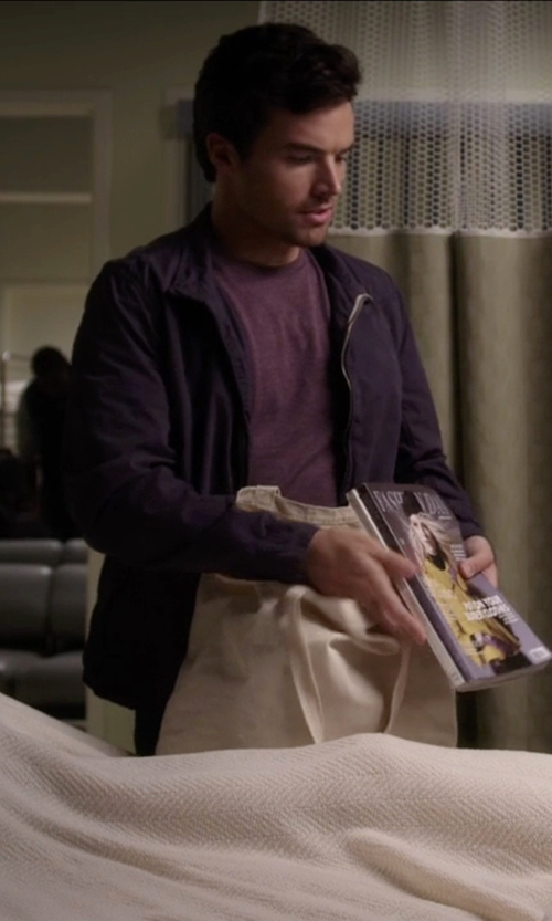 Ian Harding with Joma Football Training Tracksuit Jacket in Pretty Little Liars