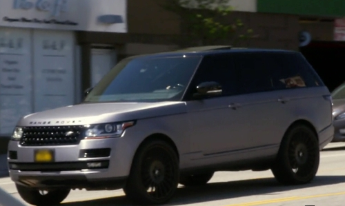 Scott Disick with Land Rover Range Rover in Keeping Up With The Kardashians