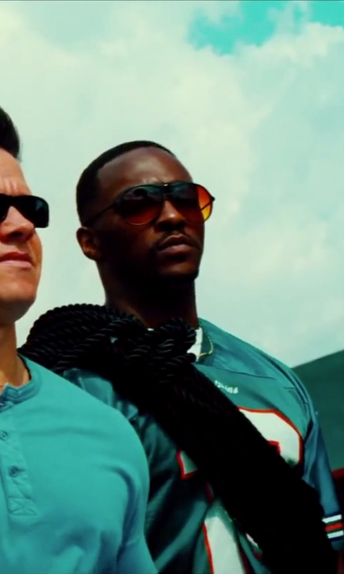 Anthony Mackie with Nike Men's/ Unisex Vintage 88 Aviator Sunglasses in Pain & Gain