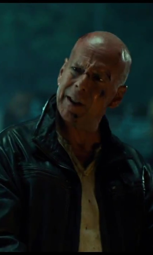No Actor with Dsquared2 Classic Jacket in A Good Day to Die Hard
