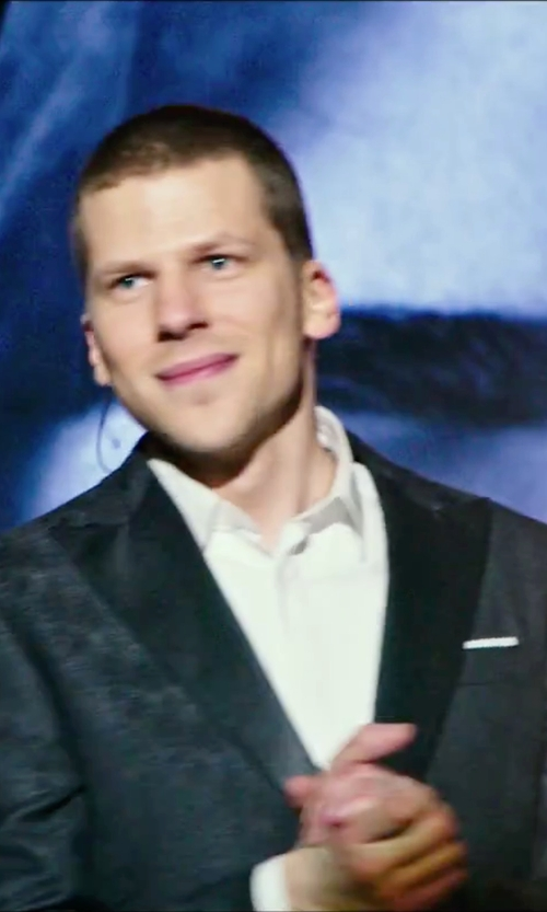 Jesse Eisenberg with Dsquared2 Classic Two-Piece Suit in Now You See Me 2