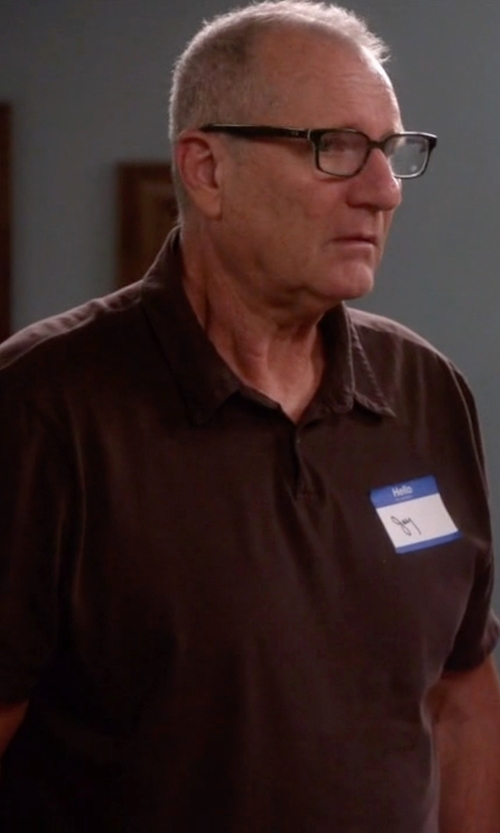 Ed O'Neill with Ray-Ban Wayfarer Eyeglasses in Modern Family