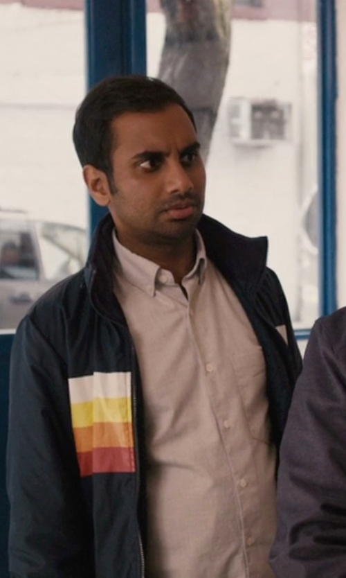Aziz Ansari with Beams Plus B+bd Flannel Slid Shirt in Master of None